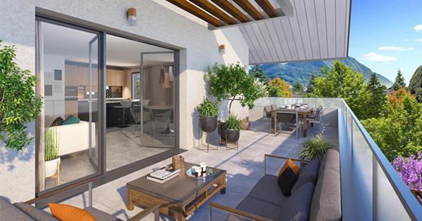 Appartement T2 Annecy, des espaces de vie de haut standing !